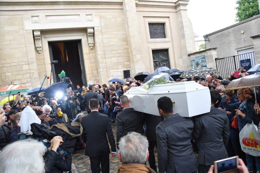 Les obsèques de Dick Rivers à Paris