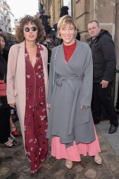 Valeria Golino et Valeria Bruni-Tedeschi