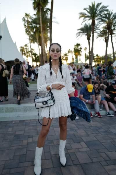 Les meilleurs looks de la première semaine de Coachella : Tamara Kalinic