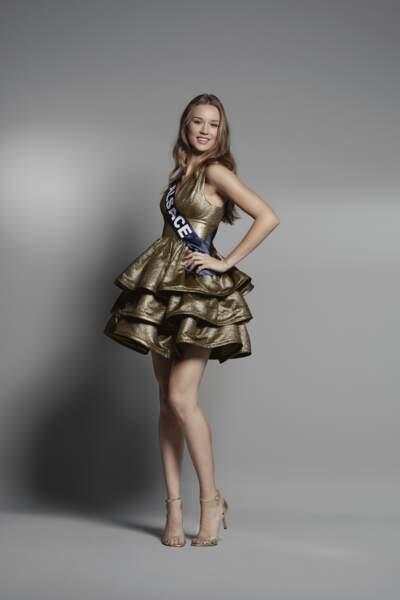 Miss Alsace : Claire Godard, 19 ans