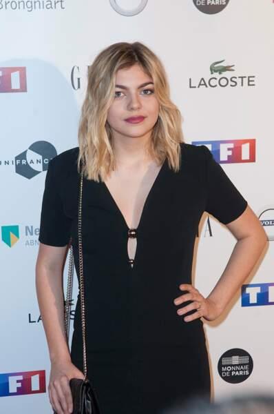 Louane était aux Trophées du Film Français, hier soir