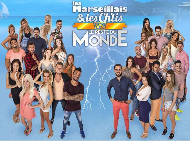 L'affiche des Marseillais et des Ch'tis VS Le reste de monde