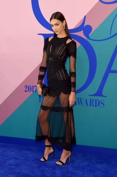 CFDA Fashion Awards 2017 - Le top Zhenya Katava