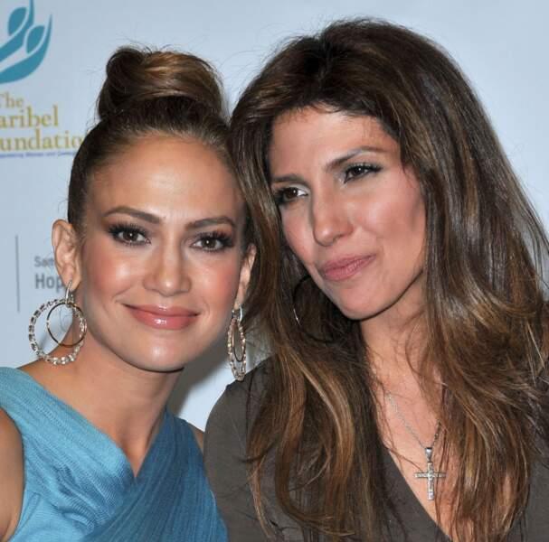 Jennifer Lopez et sa soeur Lynda