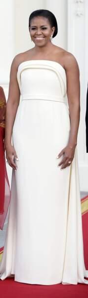 Michelle Obama en Brandon Maxwell
