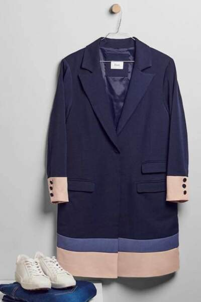 Manteau Mary, Zizzi sur Pampleon, 89,90 euros