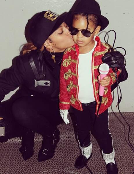 Blue Ivy et Beyoncé alias Michael et Janet Jackson