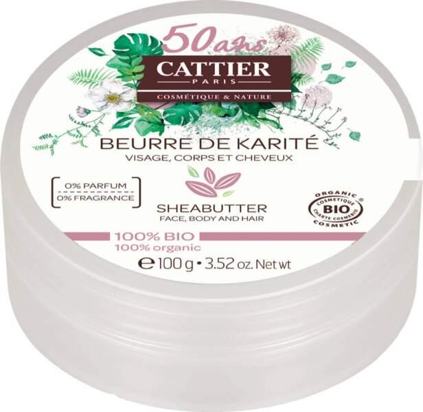 Beurre de karité, 8,80 €, Cattier