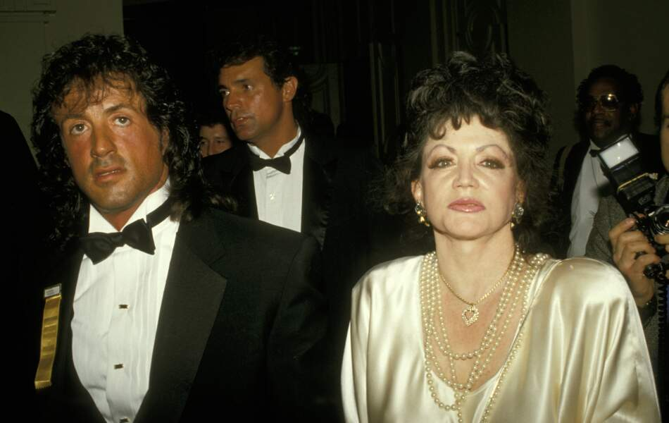 Ces stars qui ont VRAIMENT abusé de la chirurgie esthétique : Jackie Stallone avant