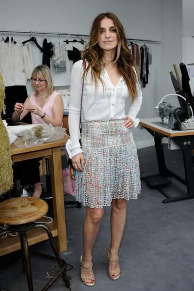 Défilé Chanel Haute Couture : la it-girl Joanna Preiss