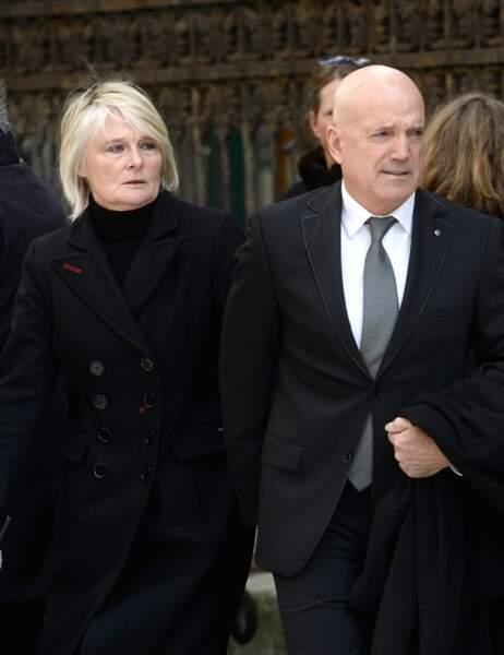 L'animateur Louis Bodin et son épouse Claire