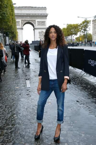 Le Défilé L'Oréal Paris show - Noémie Lenoir