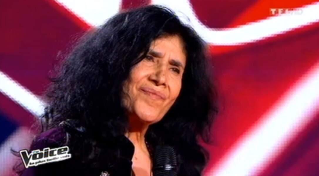 Esther Galil a chanté son tube des années 70, mais personne ne s'est retourné