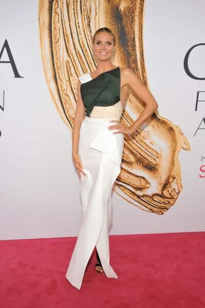 CFDA Fashion Awards : Heidi Klum
