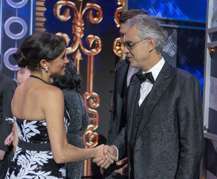 Même le chanteur Andrea Boccelli était présent pour l'occasion !