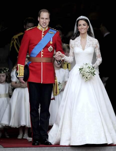 Kate et William le 29 avril 2011