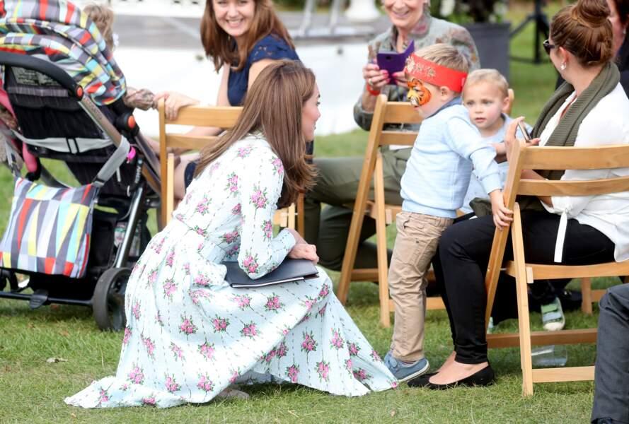 Kate Middleton au festival Retour à la nature