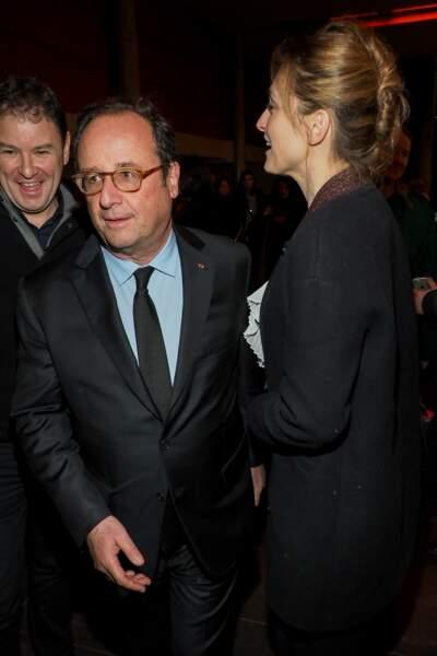 Julie Gayet et François Hollande de plus en plus complices