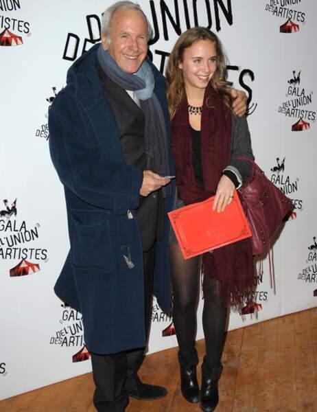Patrice Lafont et sa fille