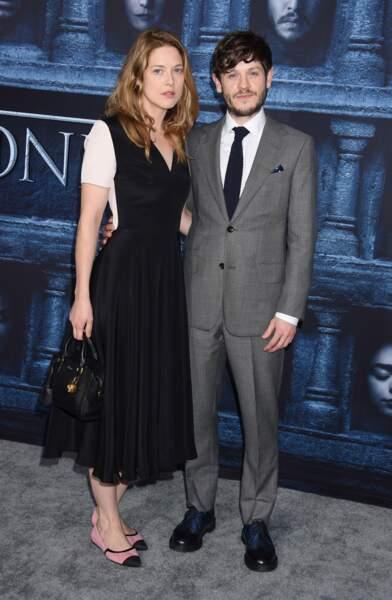 Iwan Rheon (Ramsay Bolton de Game of Thrones) et sa compagne Zoe Grisedale