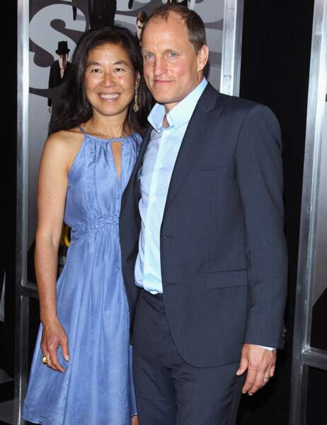 Woody Harrelson et Laura Louie