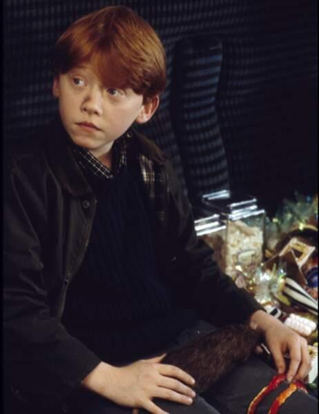 Ron Weasley, le meilleur ami d'Harry...