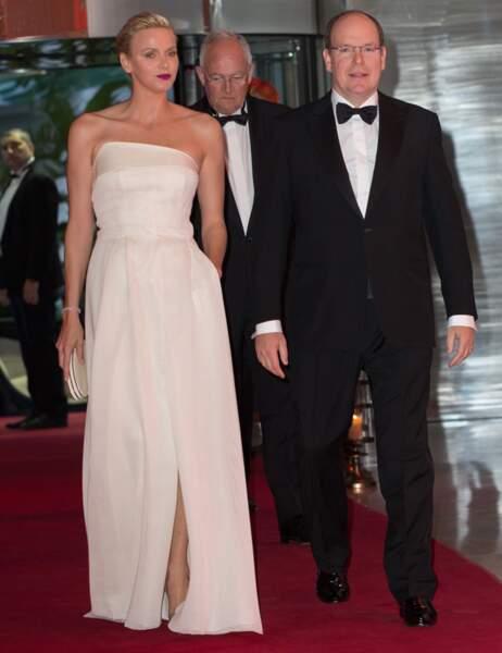 Charlène et Albert II de Monaco