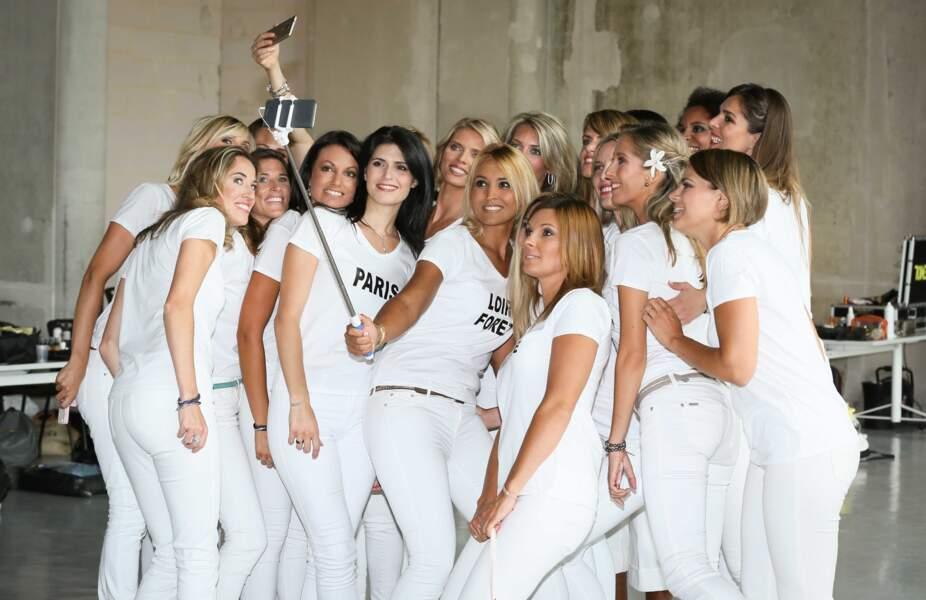 Les miss 2001 ont fait beaucoup de selfies