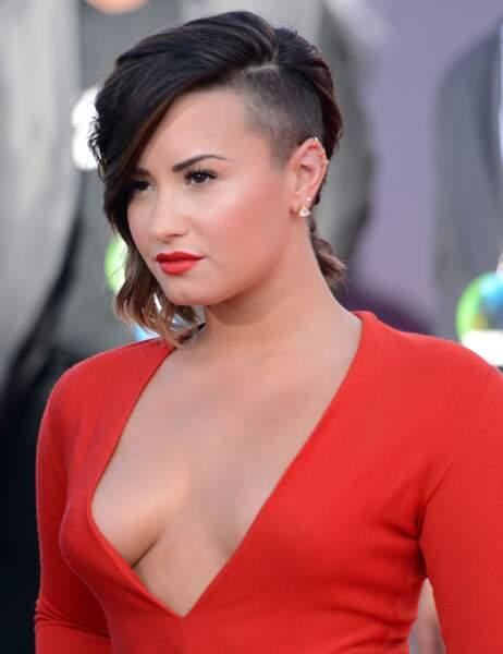 Demi Lovato, bipolaire du cheveu