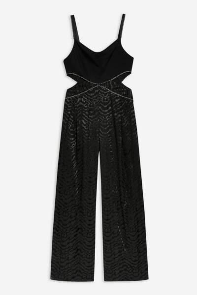 Combi-pantalon orné de strass, Topshop, actuellement à 42€