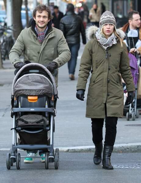 Claire Danes, son mari Hugh Dancy et leur petit Cyrus