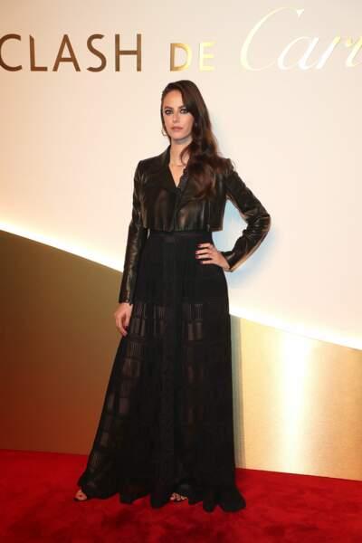 Kaya Scodelario au dîner Cartier, le 10 avril 2019 à la Conciergerie de Paris