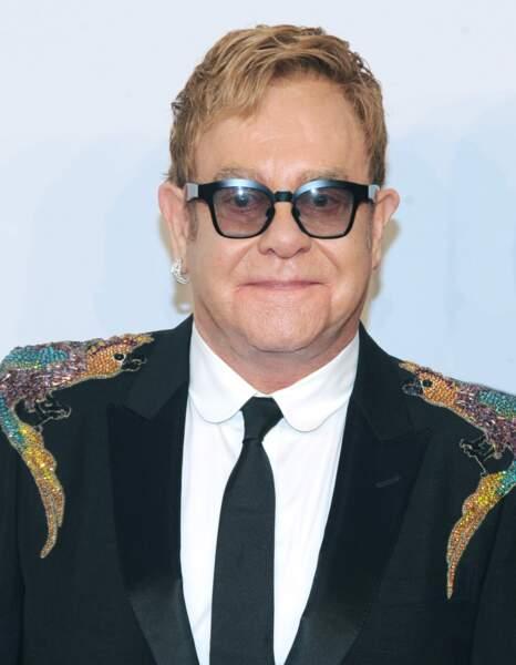 Elton John : Papa pour la première fois à 62 ans