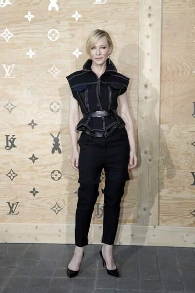 Soirée Louis Vuitton x Jeff Koons au Louvre : Cate Blanchett
