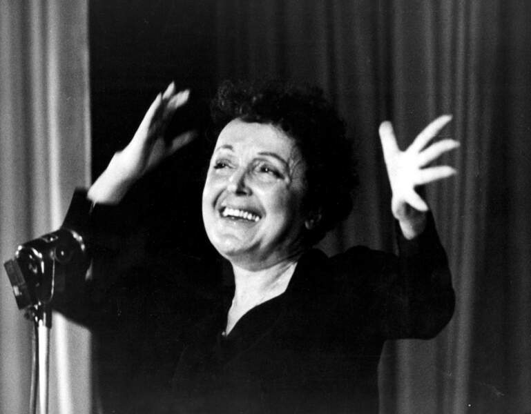Édith Piaf est 1e (26,6%)