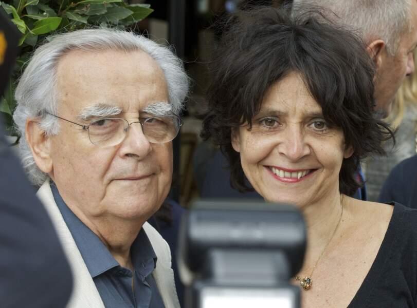 Bernard Pivot et sa fille