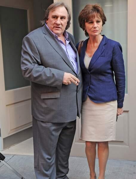 Gérard Depardieu et Jacqueline Bisset, les copies