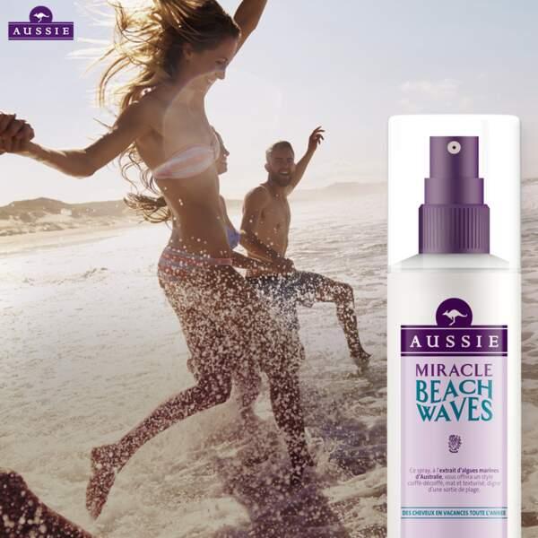 Avril 2016, lancement du spray Miracle Beach Waves