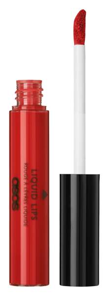 Rouge à lèvres liquide mat rouge Prove It, ASOS Make-Up, 9,49€