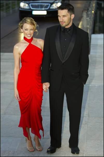 Kylie Minogue et Olivier Martinez en couple de 2003 à 2007