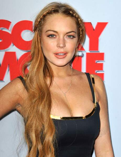 16ème Place : Lindsay Lohan