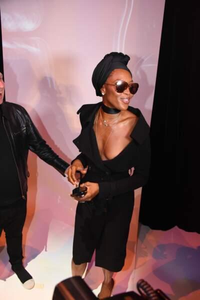 Naomi Campbell au défilé Jean Paul Gaultier