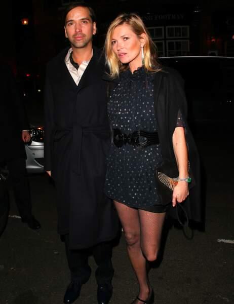 Kate Moss, sublime comme à son habitude...