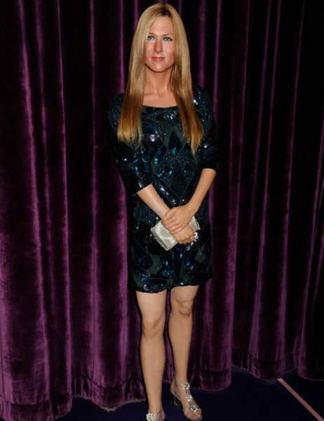 Jennifer Aniston au Madame Tussauds d'Hollywood