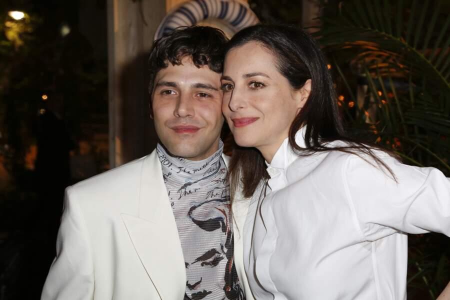Xavier Dolan et Amira Casar au dîner Dior et Vogue lors du Festival de Cannes