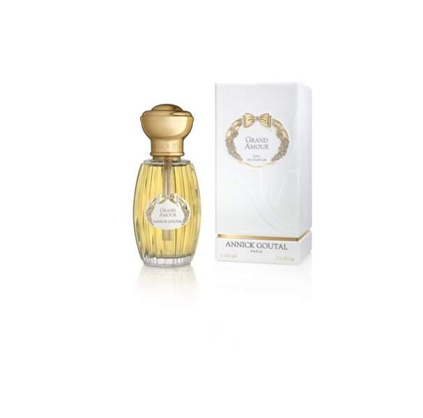 Eau de parfum Grand Amour, 100 ml 130€, Annick Goutal.