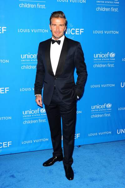 La star de la soirée, David Beckham