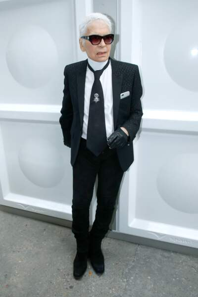 Le couturier Karl Lagerfeld