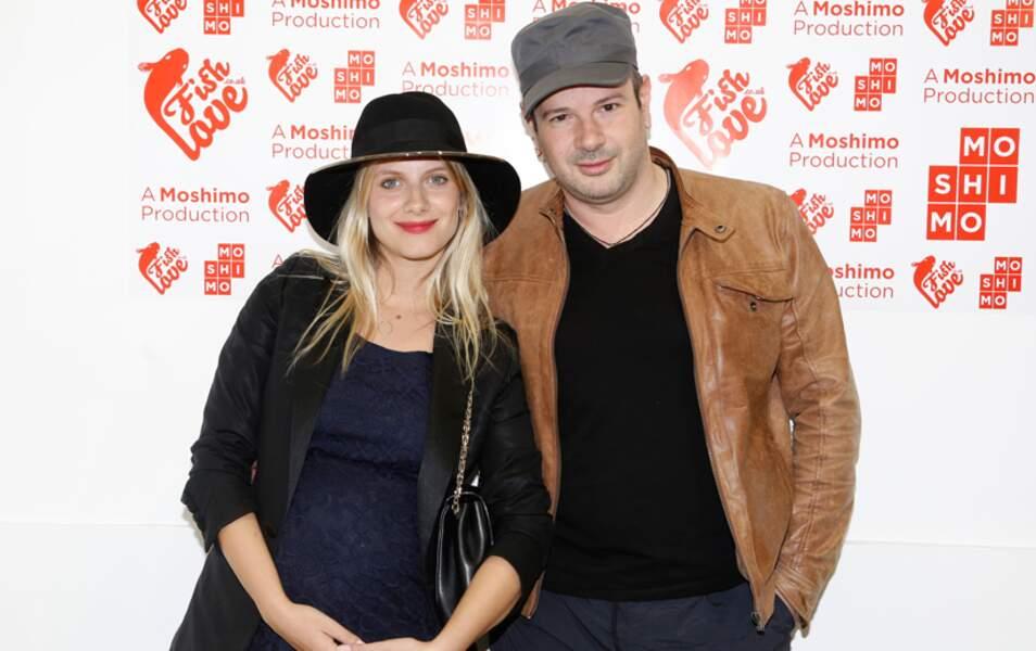 Mélanie Laurent et le photographe Alan Gelati