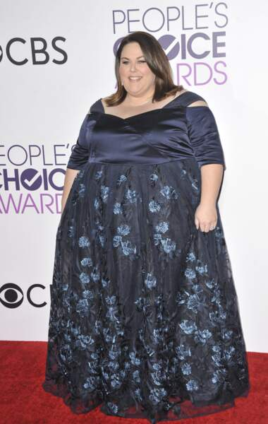 People's Choice Awards 2017 : Chrissy Metz en Eloquii